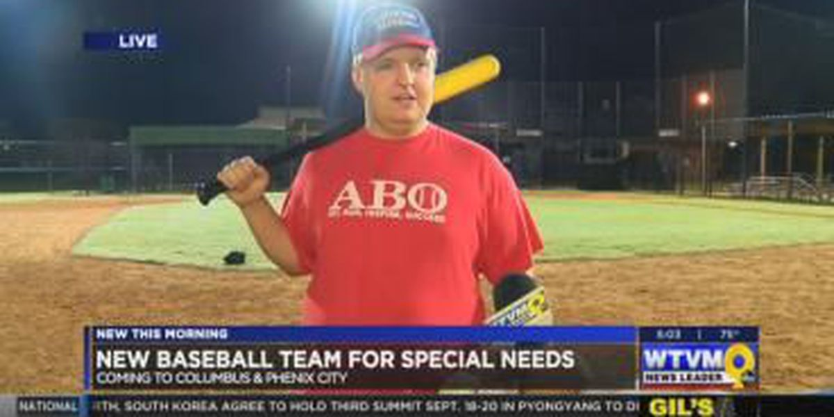 VIDEO: Founder of special needs Columbus baseball team speaks with News Leader 9