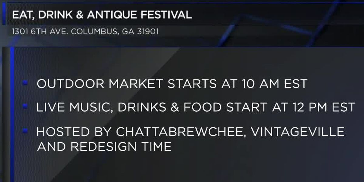 Eat, Drink, & Antique Festival is today, November 16th
