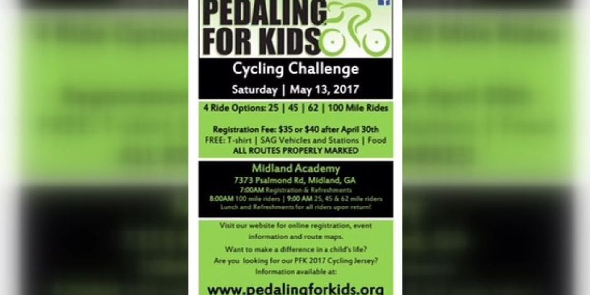 SEGMENT: Pedaling for Kids cycling challenge