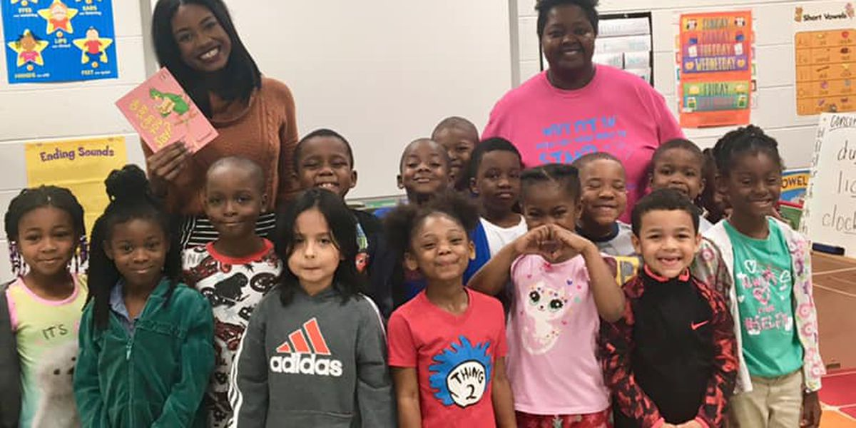 News Leader 9 participates in Read Across America Day at Phenix City school