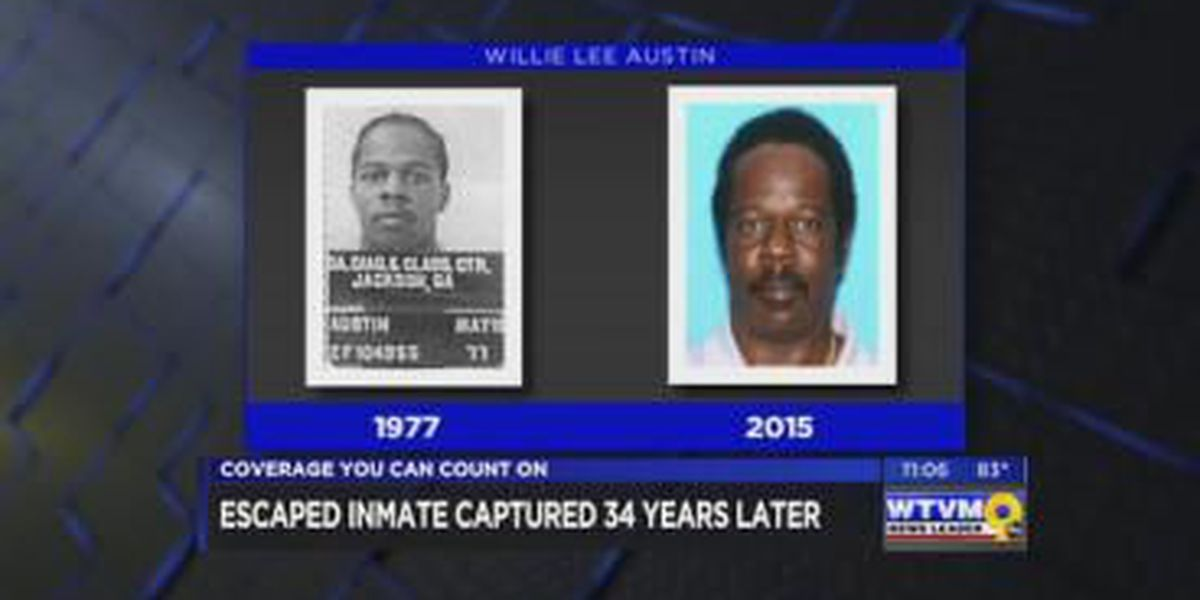 Inmate recaptured after 34 years on the run