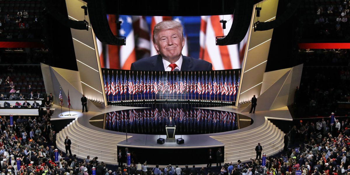 Trump's grand GOP convention plans shrink as virus surges