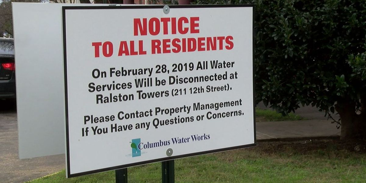 Columbus Water Works gives notice of unpaid bill, payment issues to Ralston Towers owners