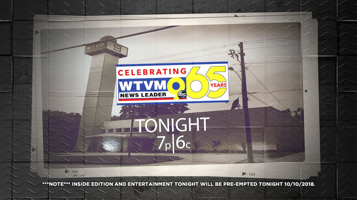 Celebrate 65 years of WTVM with our anniversary special