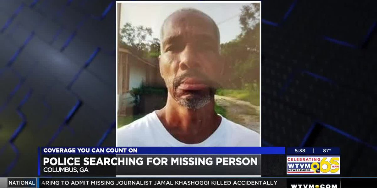Columbus police searching for missing man