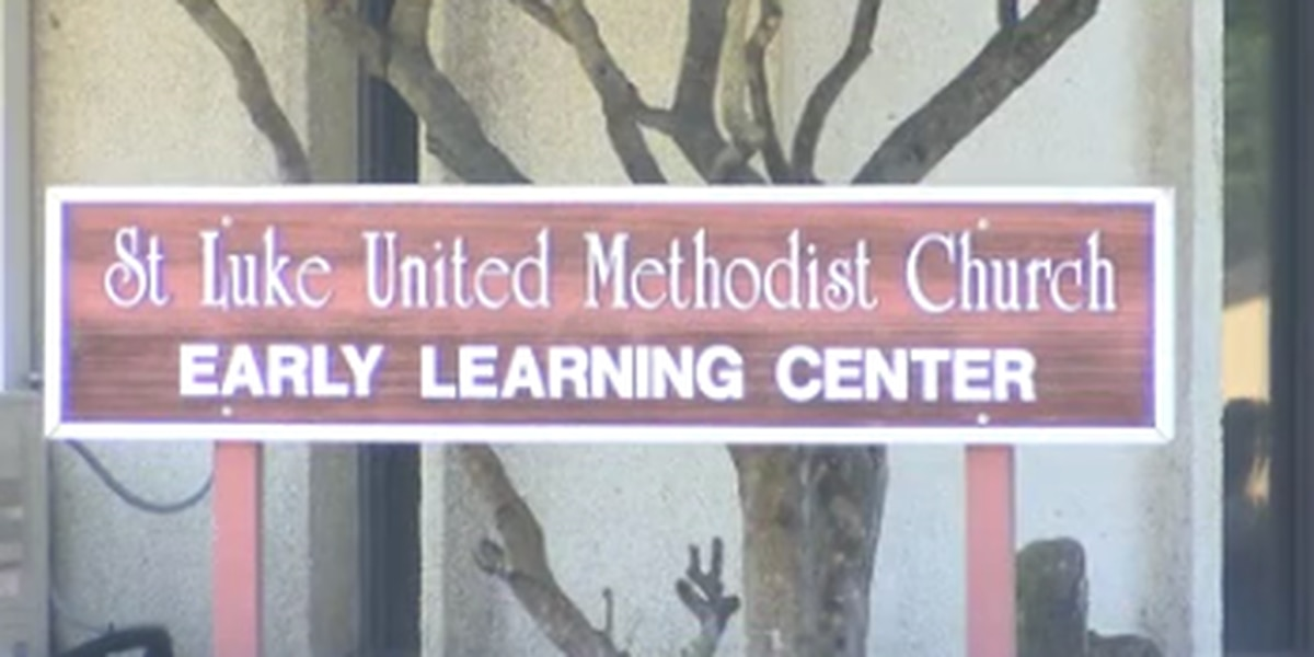 Students at St. Luke School in Columbus return to classes