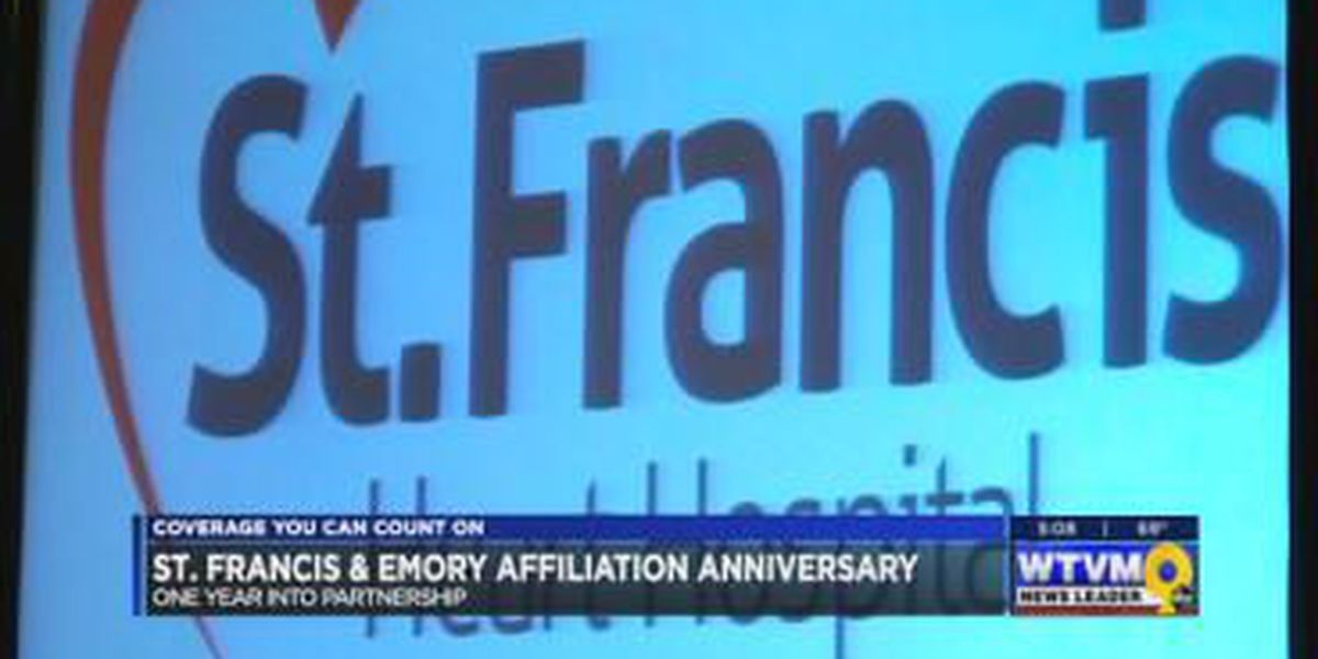 St. Francis, Emory celebrate 1 year affiliation anniversary