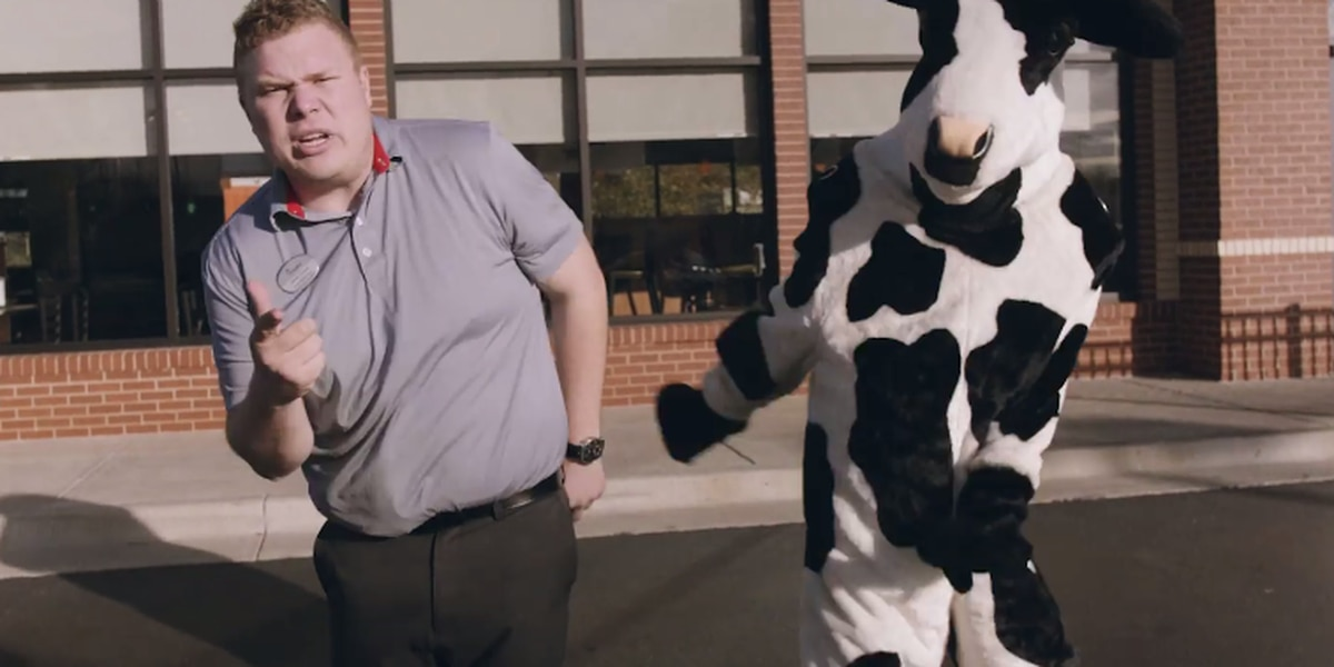 Corny Chick-fil-A rap video goes viral