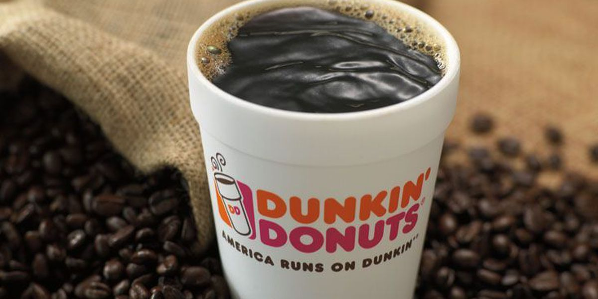 Dunkin' Donuts location offers up free coffee in February