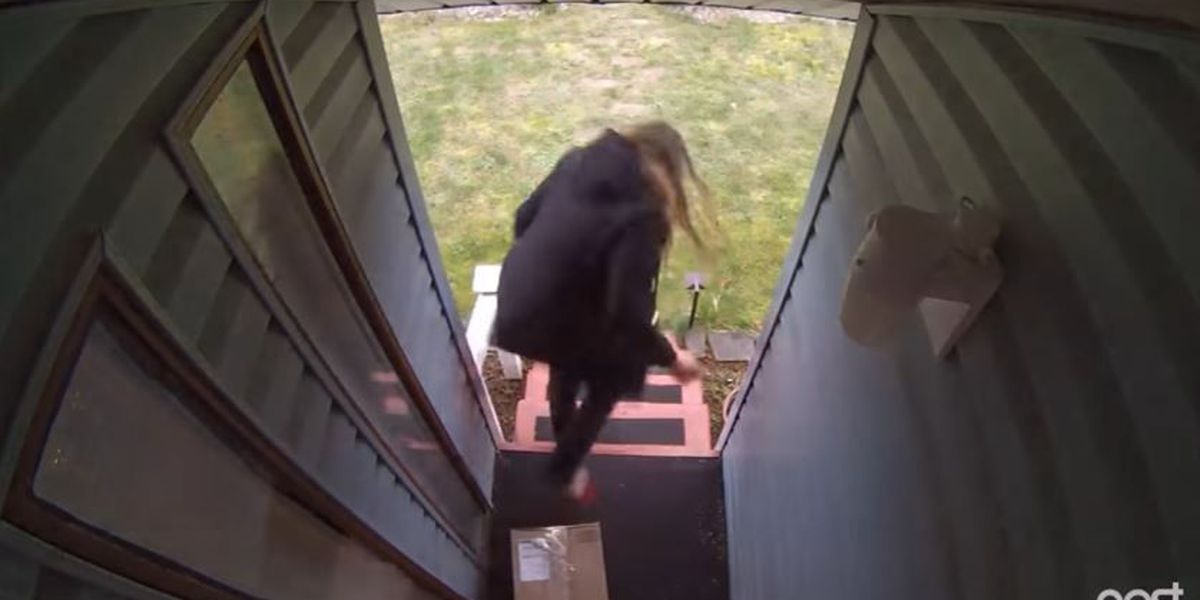 VIDEO: Washington man rigs package to combat thieves