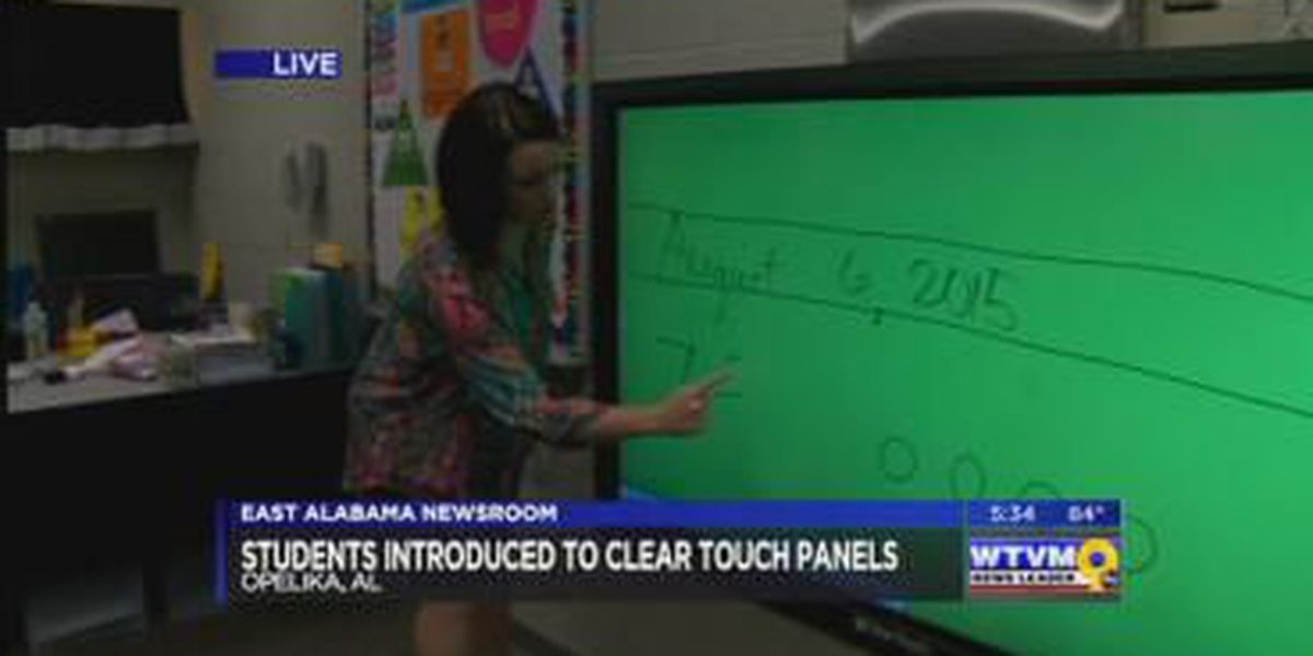 New smart panel boards a first at Opelika school