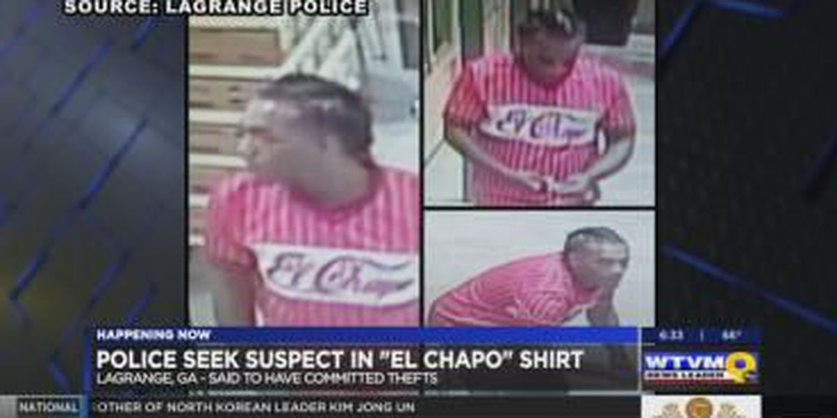 Police search for man suspected of theft at LaGrange retail stores