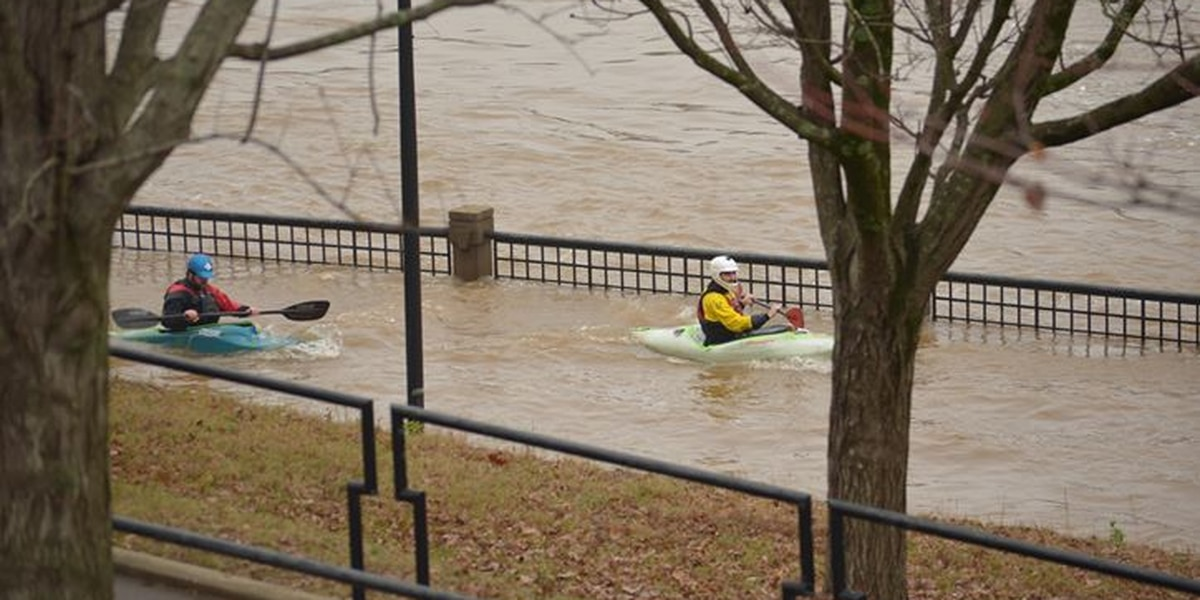Flooded Chattahoochee River cancels activities in Columbus