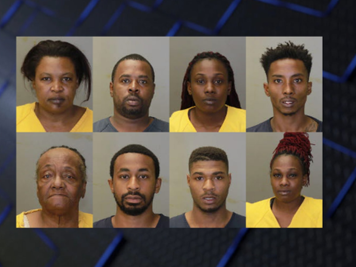 CPD arrests 8 people following narcotics investigation on Cusseta Rd.