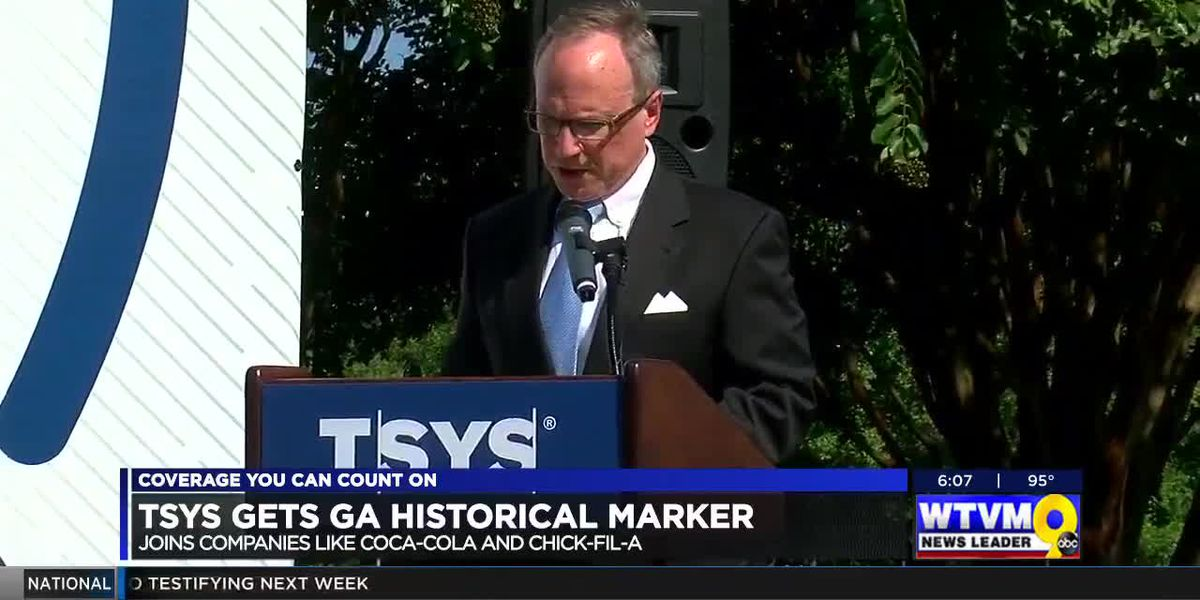 Georgia Historical Society honors TSYS with historical marker