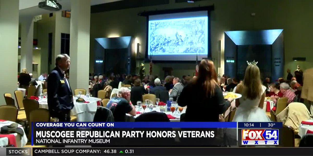 Muscogee County Republican Party honors veterans with dinner at NIM