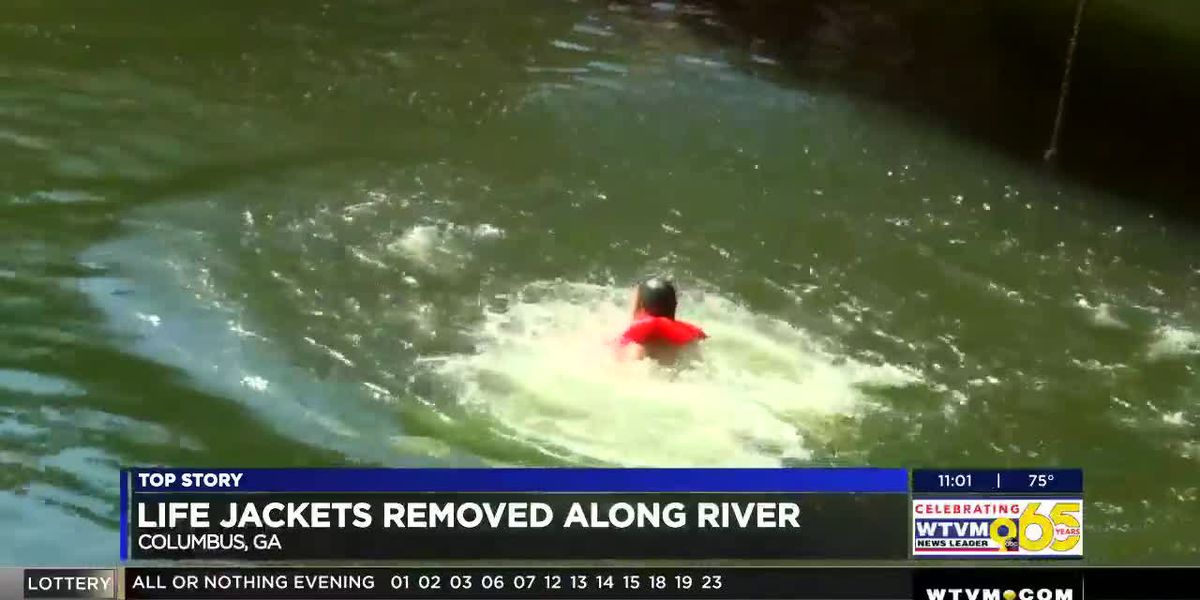 Controversy sparked after donated life jackets taken down by the City