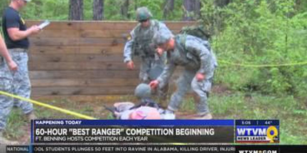 Best Ranger competitors come to Ft. Benning to train