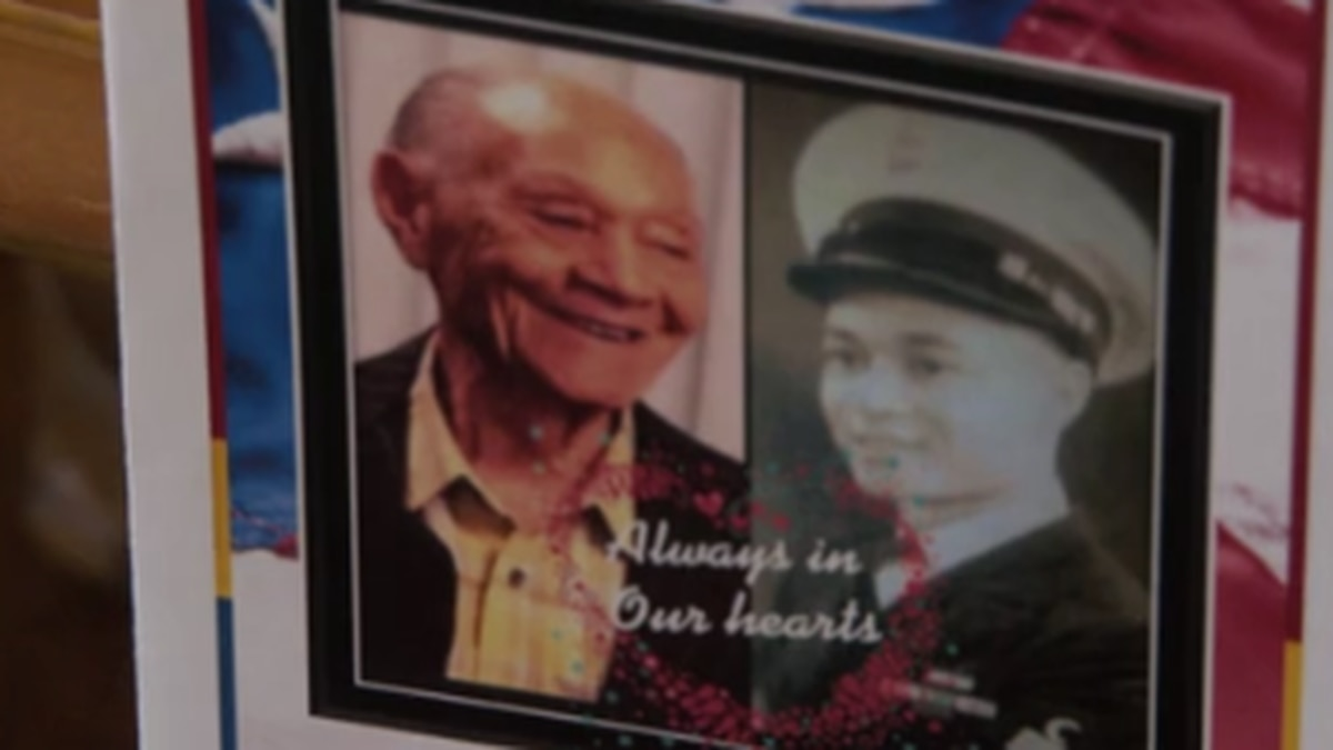 Local World War II, Vietnam veteran laid to rest in Columbus at age 101