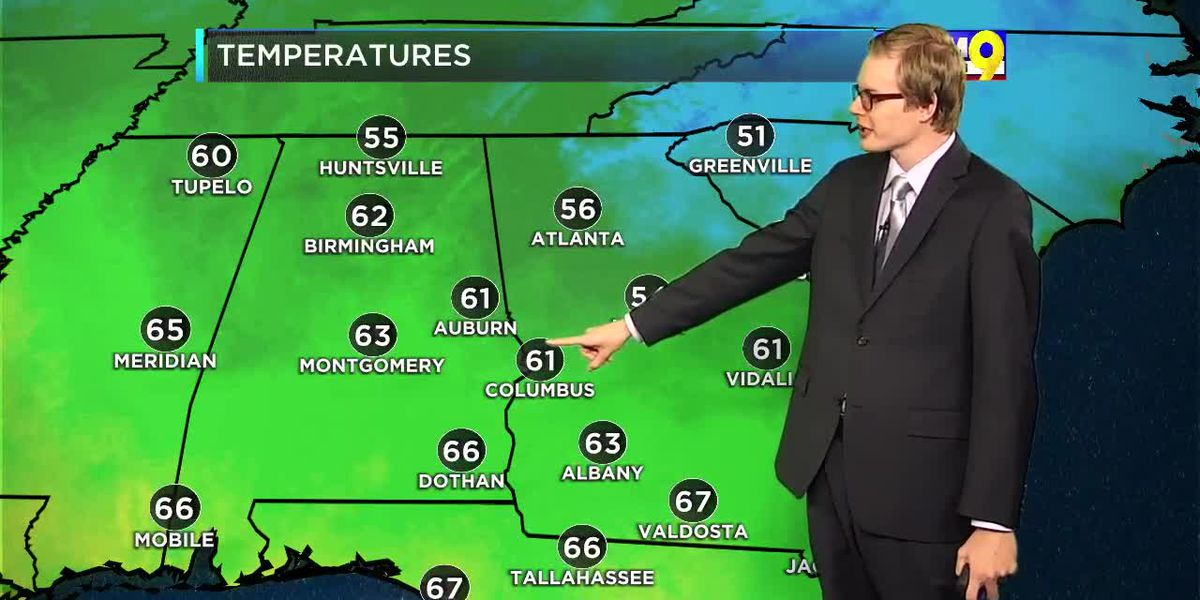 Tuesday Evening Weather on the Go