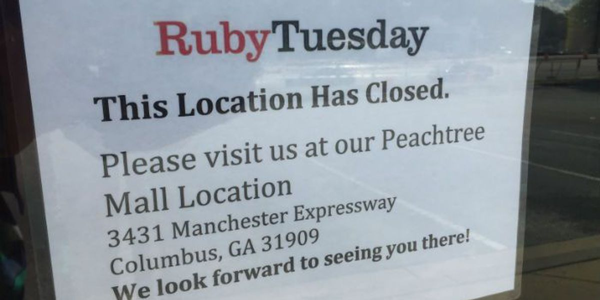 1 'underperforming' Ruby Tuesday location in Columbus closes its doors