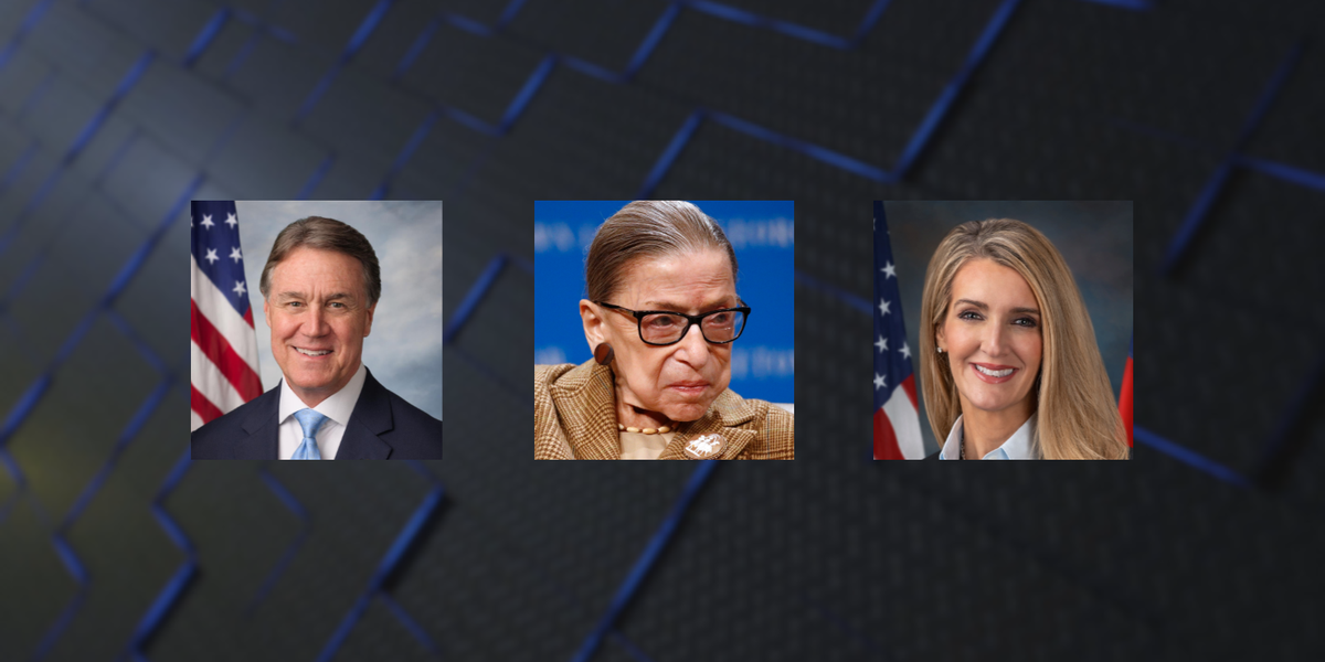 Ga. Senators Perdue and Loeffler react to death of Justice Ruth Bader Ginsburg