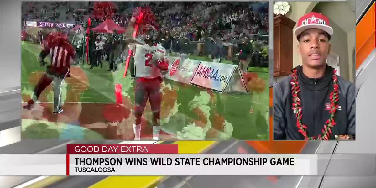 Thompson player talks about wild finish in state title game