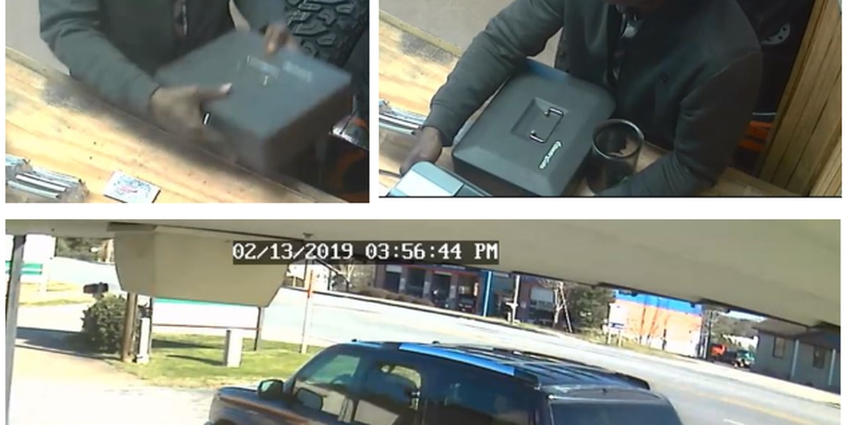 Troup County Sheriff's Office release surveillance photos of Alabama theft suspect