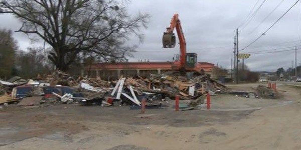 War Eagle Supper Club officially demolished