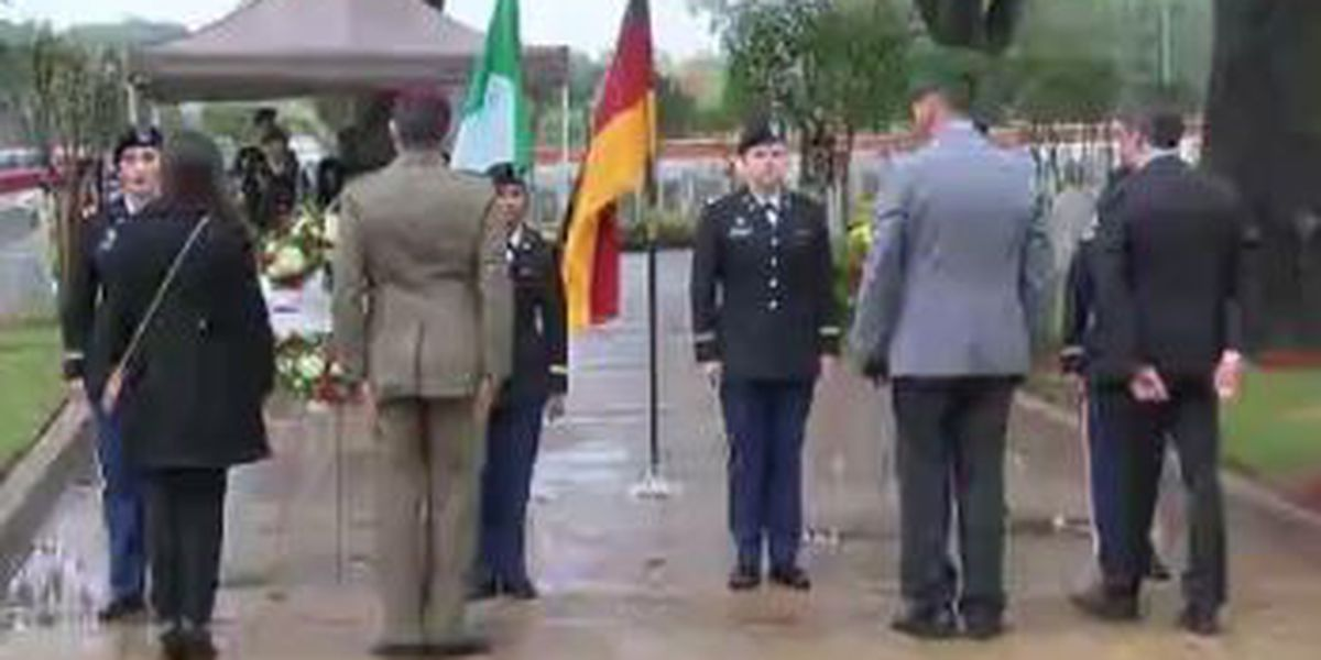 Ft. Benning celebrates German and Italian Day at Main Post Cemetery