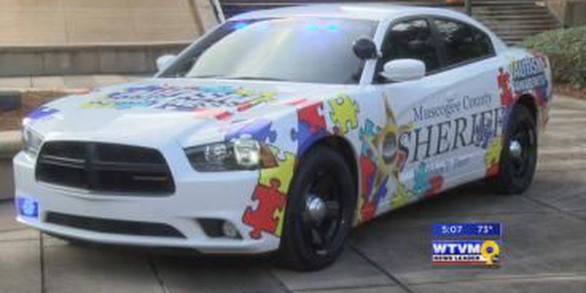 Muscogee County sheriff debuts vehicle in support of autism