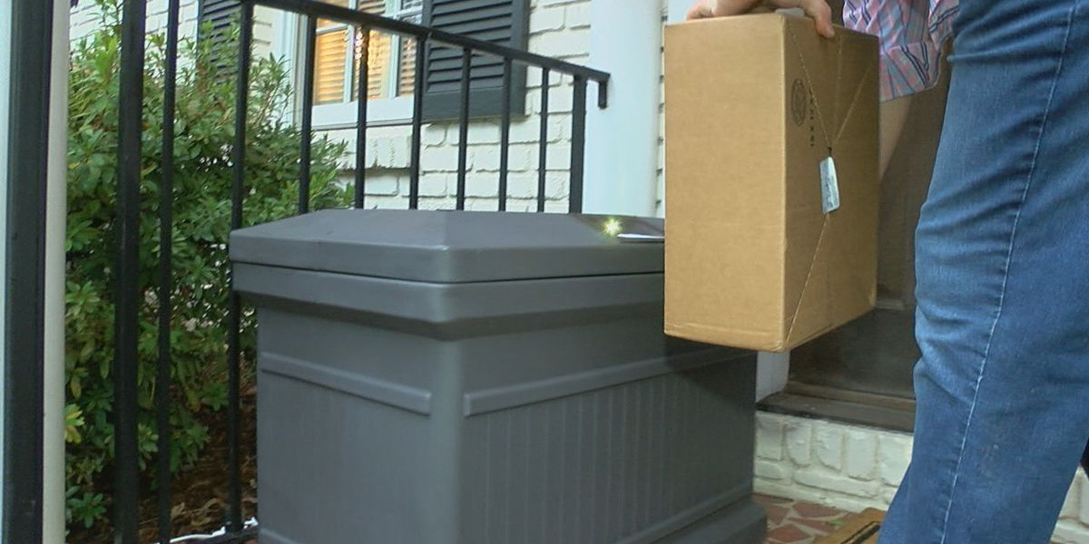AL man develops Porch Pod to keep your packages safe this holiday season