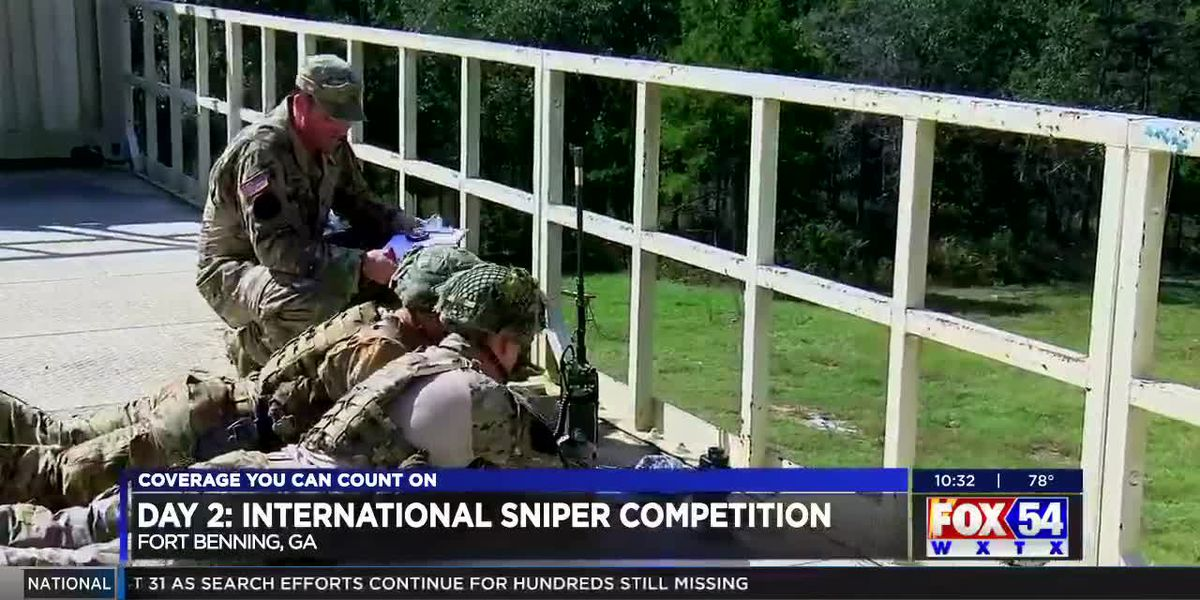 Fort Benning sniper competition continues into second day
