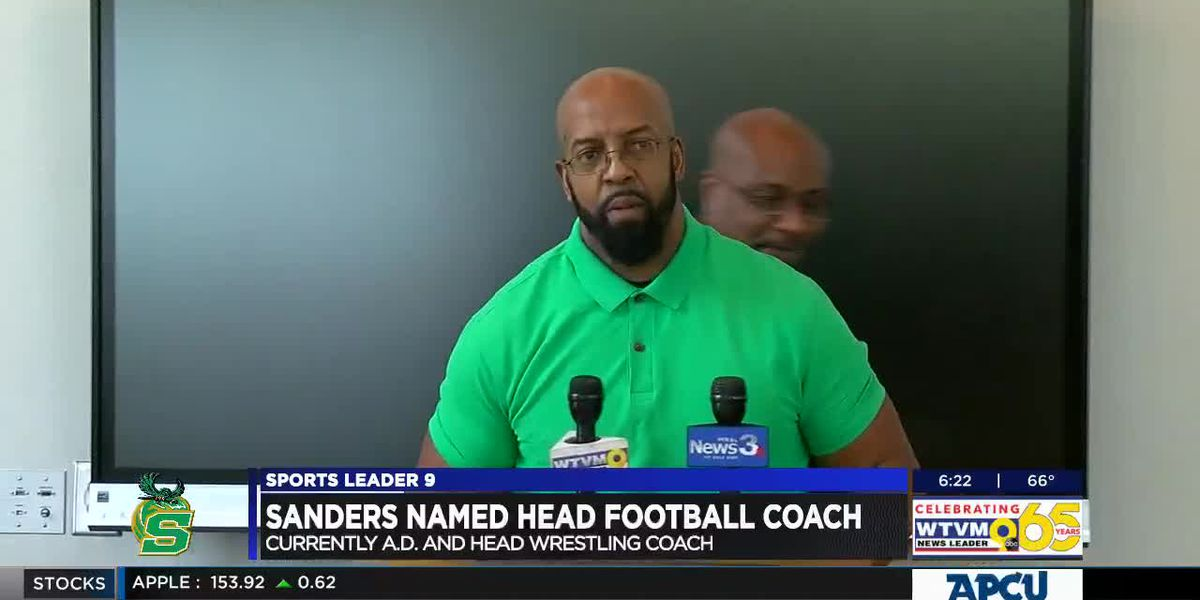 Spencer names Sanders head football coach