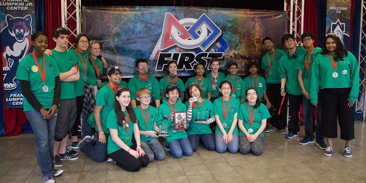 Columbus robotics earns bid to FIRST World Championships for third year in a row
