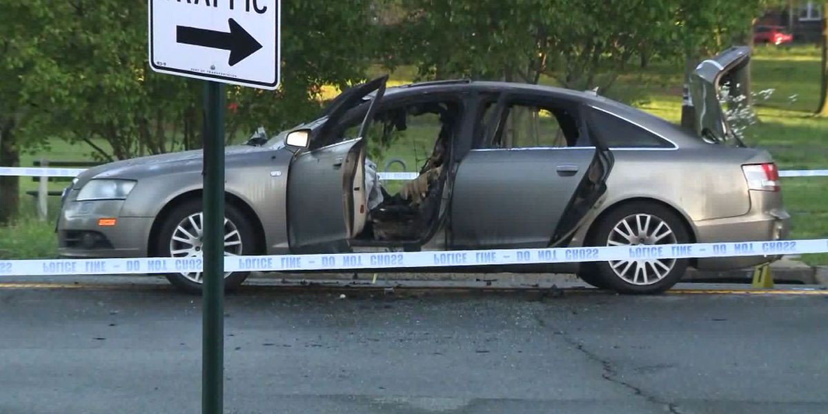 3-year-old girl dies after father allegedly locks her inside burning car