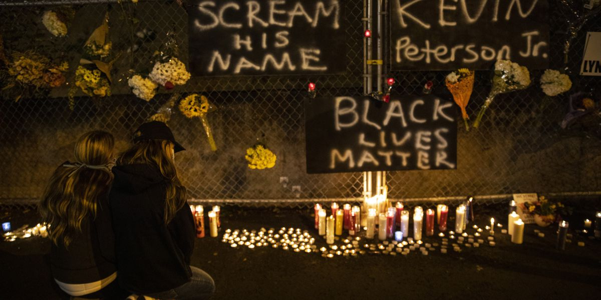 Unrest erupts over police killing of Black man near Portland