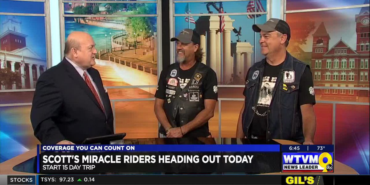 SEGMENT: Miracle Riders set off on cross-country motorcycle trip to benefit children's charities