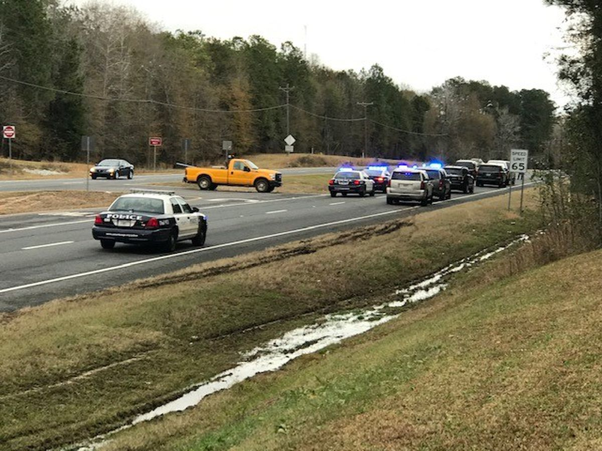1 person killed in major traffic accident on HWY 80 near Upatoi