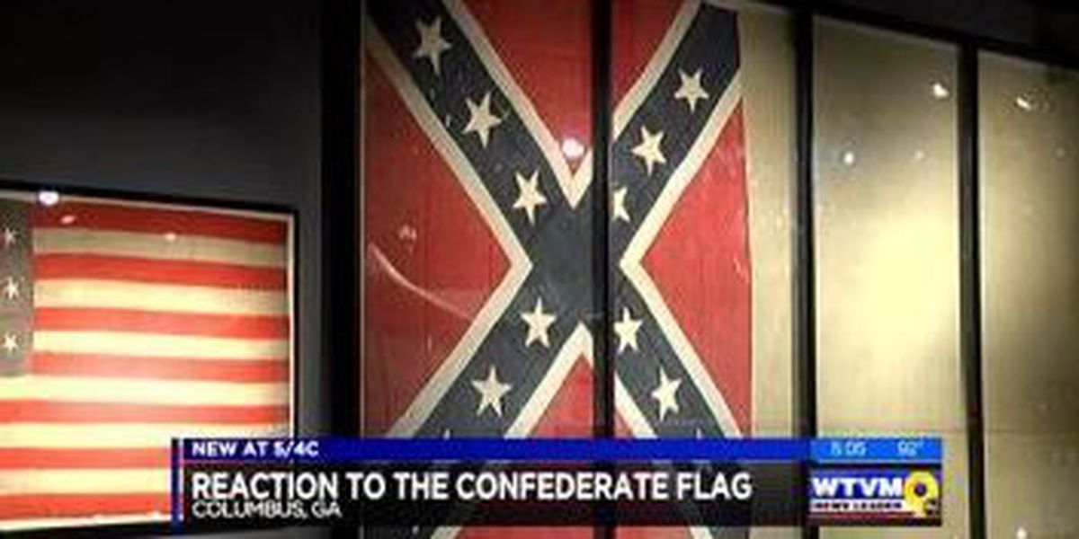 More reaction in Columbus on the Confederate Flag