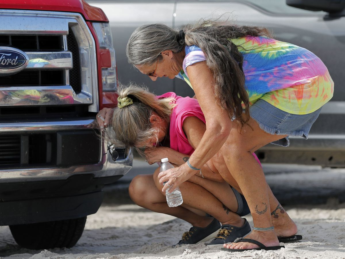 Mexico Beach residents return home again _ some to no home