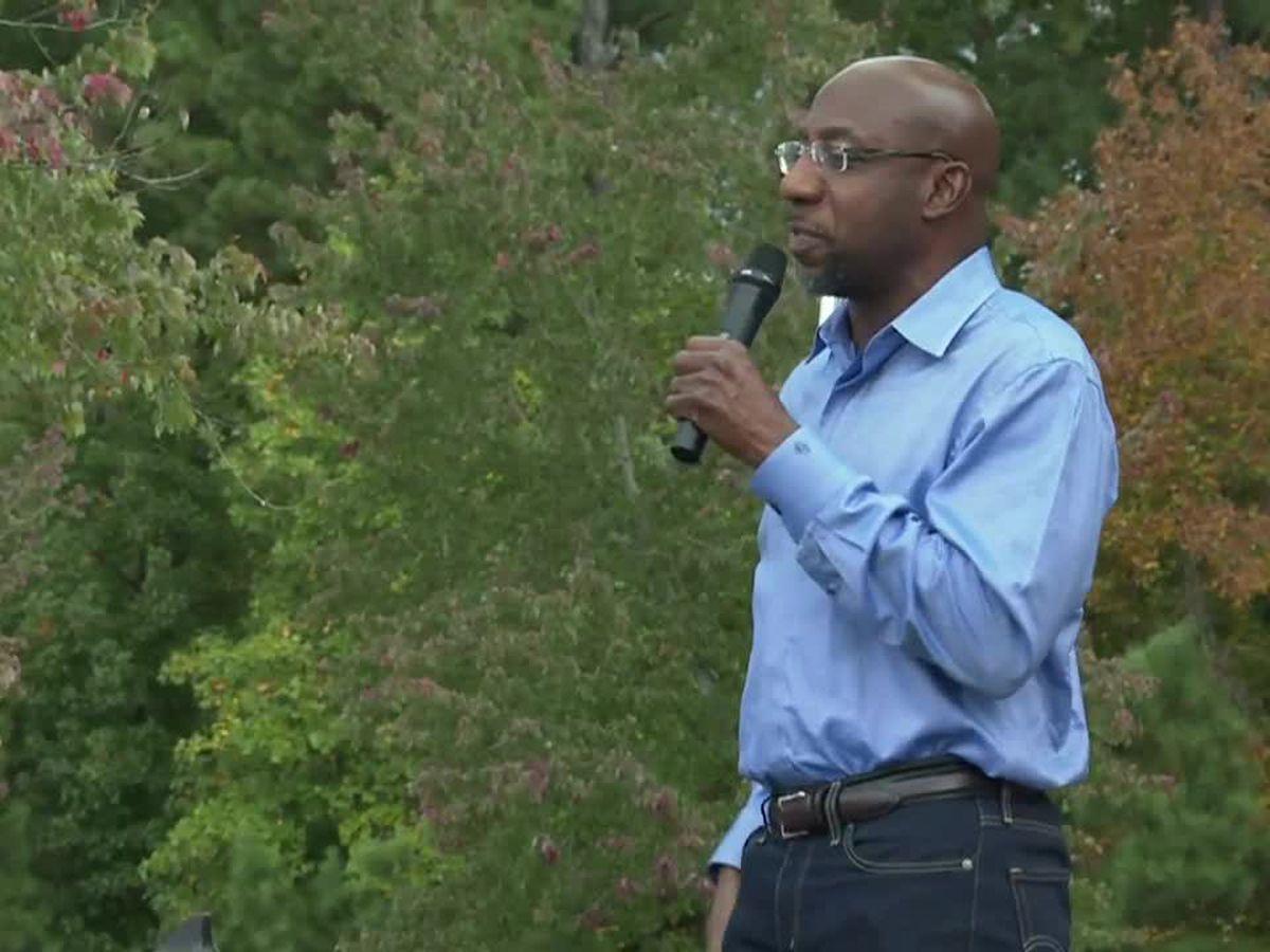 Democratic Senate candidate Rev. Raphael Warnock hosting meet and greet in Buena Vista