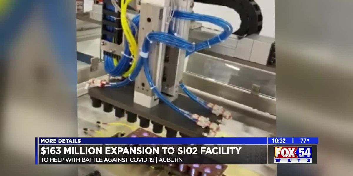 Company creating vials for COVID-19 vaccine brings more jobs to Auburn area