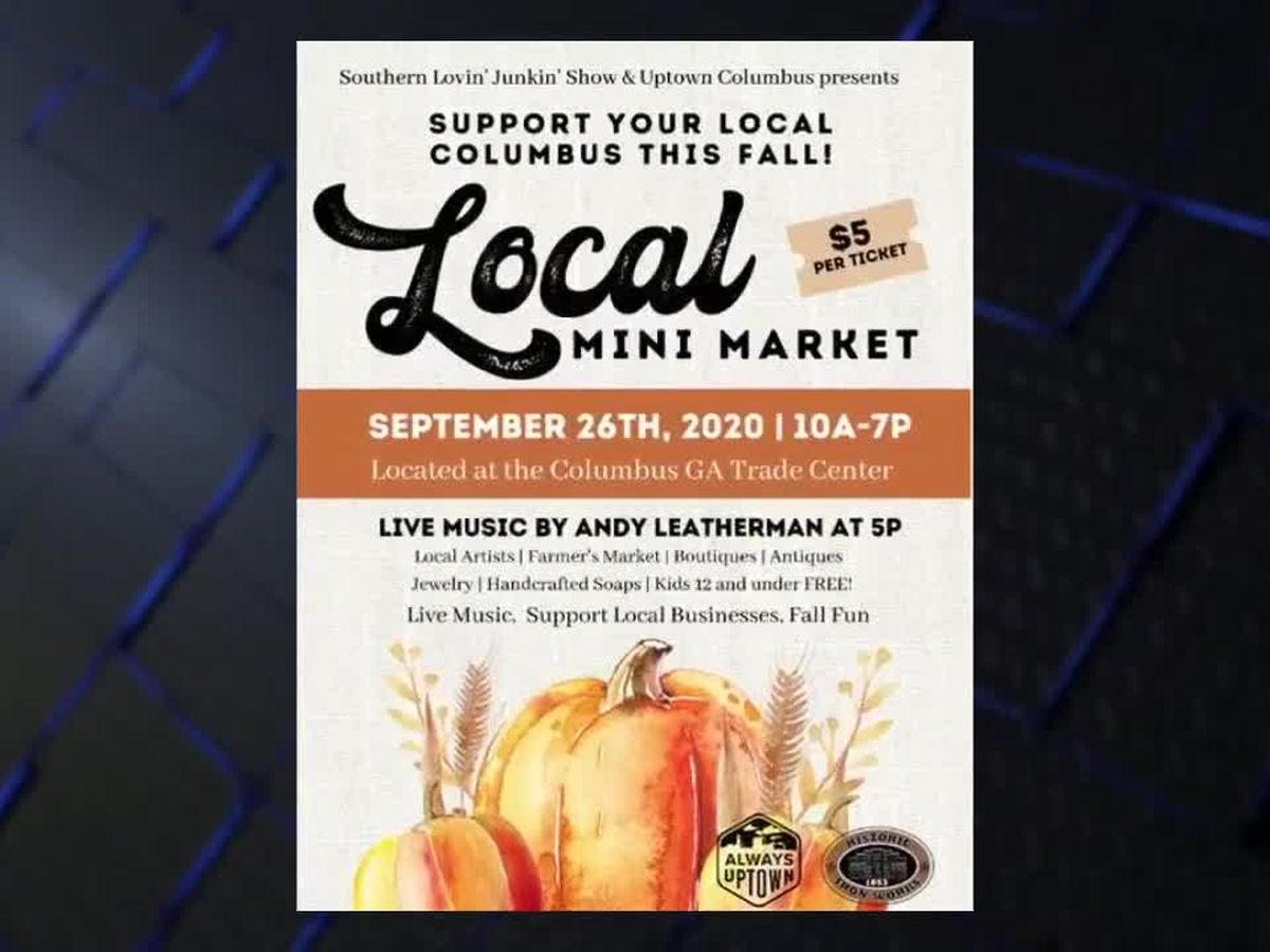 Local Mini Market in Columbus sees 100+ local businesses showing off their wares