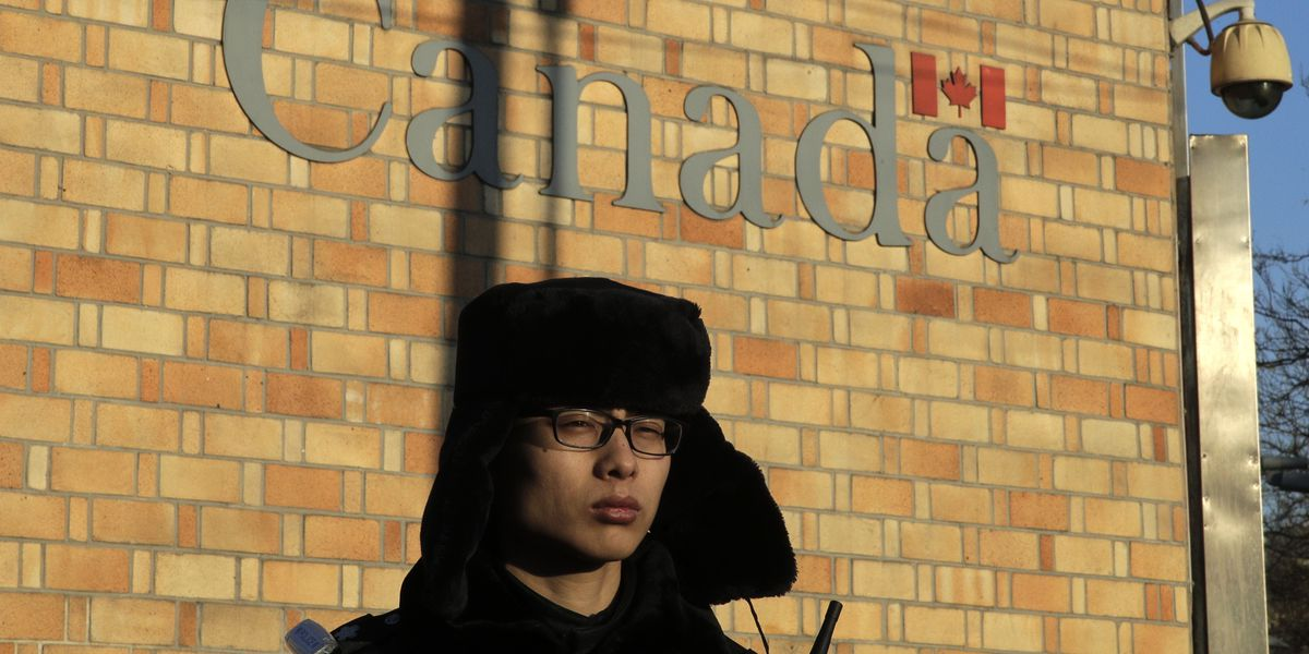 The Latest: China confirms holding 2 Canadians