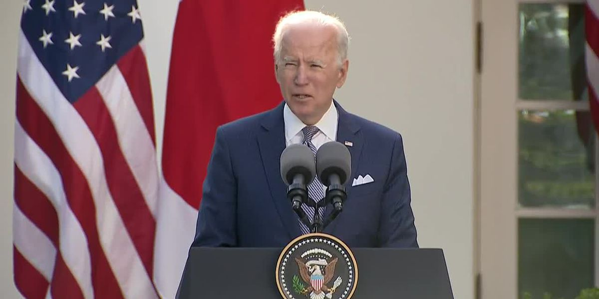 Biden announces new partnership with Japan