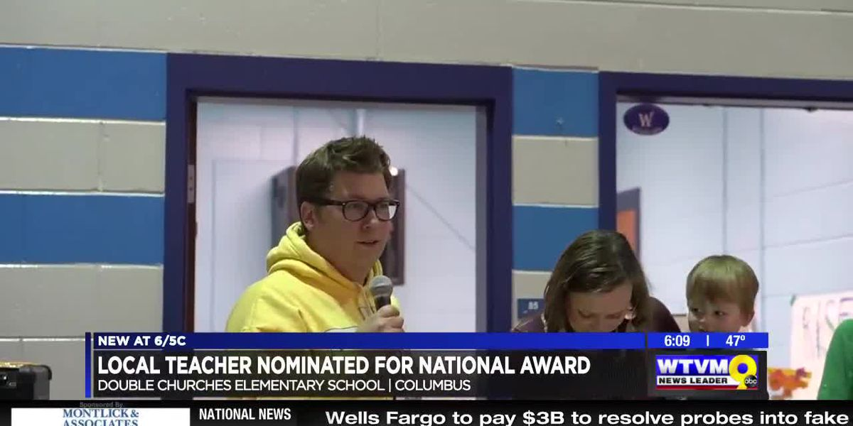 Muscogee County teacher nominated for national award