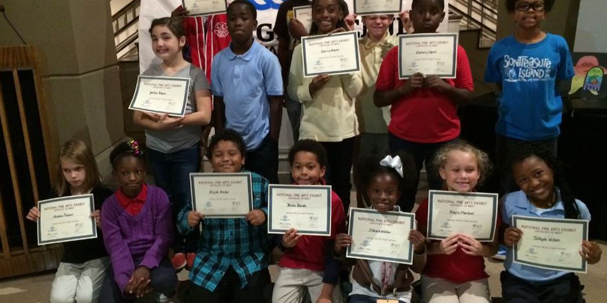 Winners of Boys and Girls Club's Fine Arts Exhibition head to Southeast Regional Competition