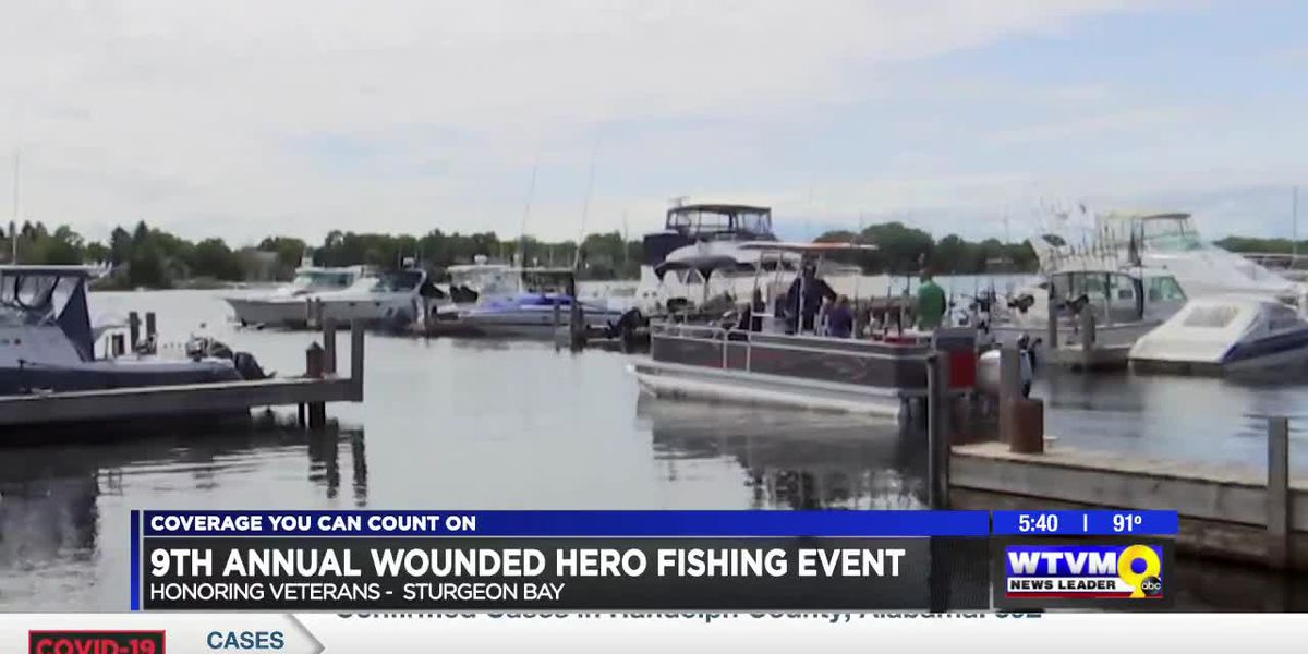 MILITARY MATTERS: Veterans take part in wounded hero fishing
