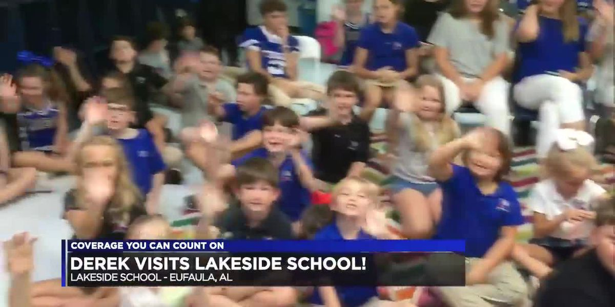 Derek Visits Lakeside School!